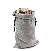 Free Bag Of Coins Royalty Free Stock Images - 17564739