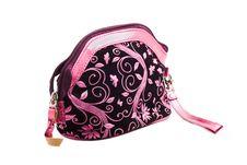 Women S Handbag Made Of Velvet Royalty Free Stock Photography