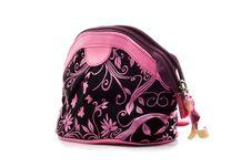 Women S Handbag Made Of Velvet Royalty Free Stock Images