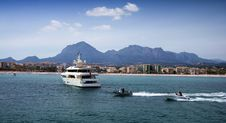 Private Cruise Royalty Free Stock Images