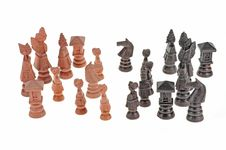 Free Chess Pieces Royalty Free Stock Photos - 17566368
