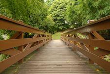 Free Wooden Bridge Stock Photos - 17566463
