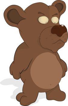 Free Malicious Toy Bear Cub Stock Photography - 17566922