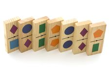 Free Develops Wooden Toy Stock Photography - 17566962