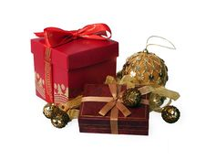 Free Red Gift Box Stock Image - 17567751