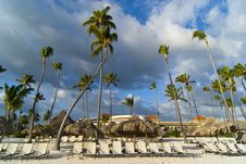 Free Morning In Caribbean Beach Stock Photo - 17567780