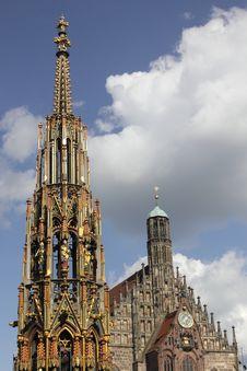 Free Nuremberg Landmarks Stock Photo - 17567880