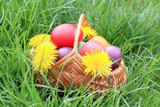 Free Easter Eggs Royalty Free Stock Photography - 17568307