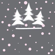 Free Christmas Tree. Vector Illustration Stock Photography - 17568332