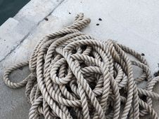 Free Rope Royalty Free Stock Photography - 17568517