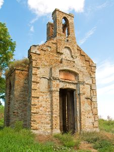 Free Church Ruins Royalty Free Stock Photo - 17568885