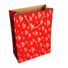 Free Gift Bag Stock Photography - 17569362