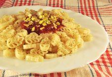 Free Pasta With Tomato Sauce Royalty Free Stock Photo - 17569715