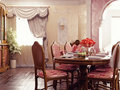 Free Dinner Room Interior Royalty Free Stock Photography - 17572707
