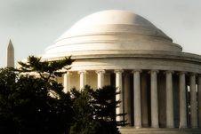Free Jefferson Memorial Stock Photo - 17570550