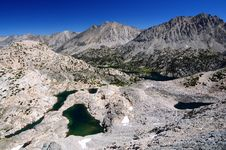 High Sierra Royalty Free Stock Images