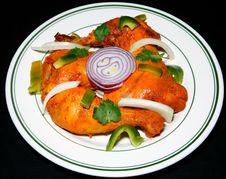 Free Tandoori Chicken Royalty Free Stock Photo - 17571415