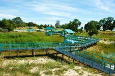 Free The Blue Pathway Stock Photos - 17571663