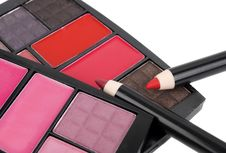 Free Cosmetics For Everyday. Stock Photography - 17572902
