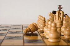 Free He Is Playing Chess Stock Photo - 17573370