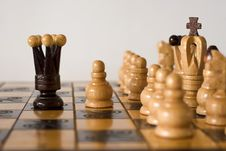 Free He Is Playing Chess Stock Photography - 17573372