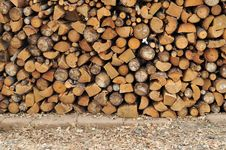 Free Firewood Royalty Free Stock Photo - 17573575