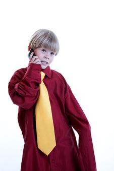 Free Little Business Boy Stock Images - 17573614