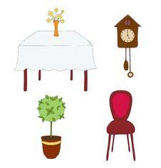 Free Furniture Royalty Free Stock Photos - 17574478