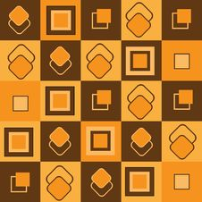 Free Futuristic Seamless Pattern With Rectangles Stock Photo - 17574730