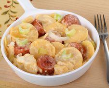 Free Au Gratin Potato Sausage Stock Photography - 17575272