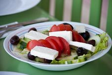 Free Greek Salad Royalty Free Stock Photography - 17575397