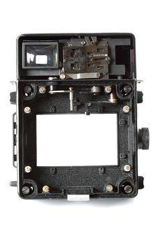 Free Torso Camera 6x9cm Royalty Free Stock Photos - 17577488