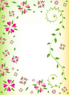 Free Floral Background Royalty Free Stock Image - 17577586