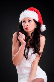 Free Christmas Girl Stock Photography - 17577872