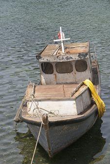 Free Small Fishing Boat Stock Image - 17578461