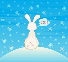 Free Cartoon Little Toy Rabbit Stock Photos - 17578973