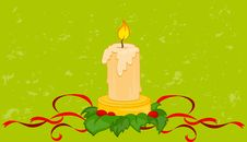 Free Burning Candle Stock Image - 17579001