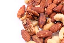 Free Peanuts Trail Mix Background Stock Photography - 17579412