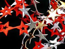 Ribbon Of  Stars Stock Photos