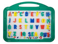 Free Magnetic Letters On A Whiteboard Stock Photos - 17579843