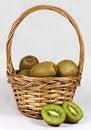 Free Kiwis In Basket Royalty Free Stock Images - 17581419