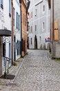 Free Narrow Street Of Cesky Krumlov Royalty Free Stock Photos - 17585378