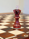 Free Wooden Chess Figures On Game Board Stock Photo - 17586910
