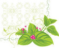 Free Decorative Frame With Spring Bouquet Royalty Free Stock Photo - 17588955