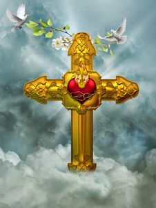 Free The Cross Stock Image - 17580151