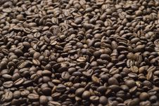 Free Sprinkle Of Coffee Beans Stock Photo - 17580170