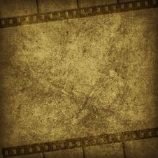 Grunge Graphic Abstr Background With Film Stock Photos