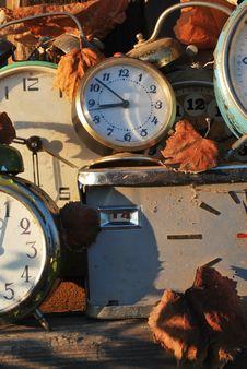 Free Old Clocks V.2 Stock Photography - 17580892