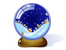 Free Сristmas-glass-ball Royalty Free Stock Images - 17581209