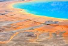 Grand Prismatic Spring, Yellowstone Stock Images